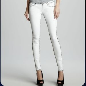 Sinclair Elon Painted-Seam Skinny Jeans